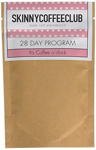 Skinny Coffee Club 28 Days Weight Loss Program 41CX13B62fL