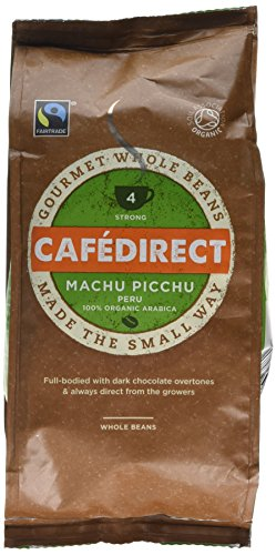 Cafédirect Fairtrade Machu Picchu Whole Bean Coffee 227g (Pack of 2) 51oPR6j0nOL