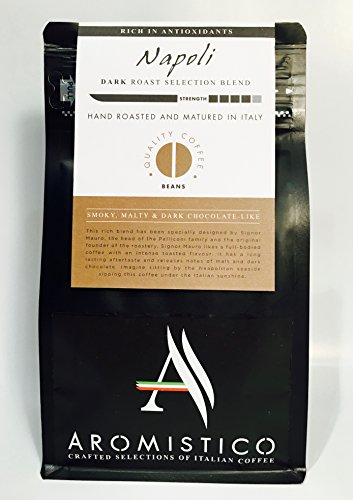 AROMISTICO COFFEE Napoli Selection Blend – BEANS aromistico coffee napoli selection blend beans