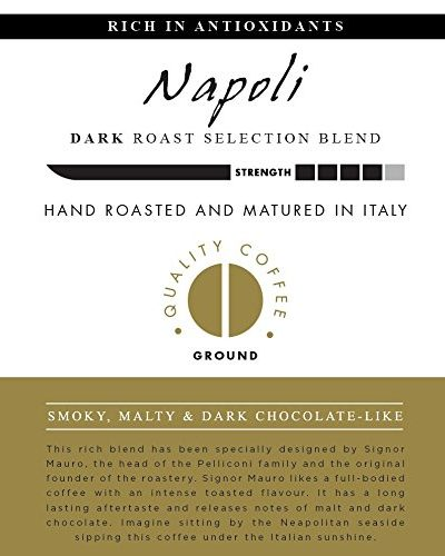AROMISTICO COFFEE Napoli Selection Blend – GROUND aromistico coffee napoli selection blend ground