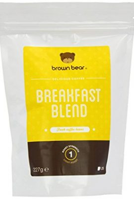 Brown Bear Breakfast Blend Light Roast Whole Bean Coffee brown bear breakfast blend light roast whole bean coffee 270x400