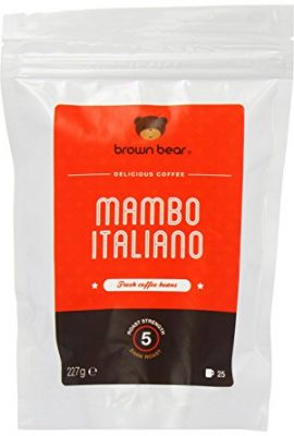 Brown Bear Mambo Italiano Dark Roast Whole Bean Coffee brown bear mambo italiano dark roast whole bean coffee 270x400