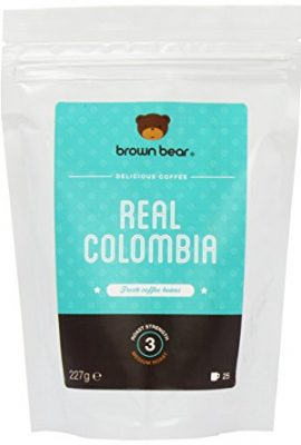 Brown Bear Real Colombia Medium Roast Whole Bean Coffee brown bear real colombia medium roast whole bean coffee 270x400