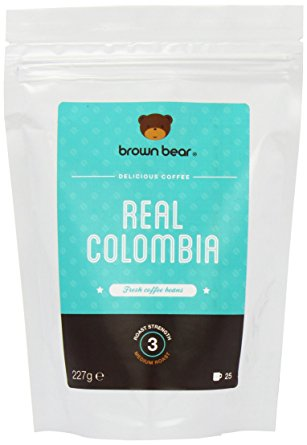 Brown Bear Real Colombia Medium Roast Whole Bean Coffee brown bear real colombia medium roast whole bean coffee