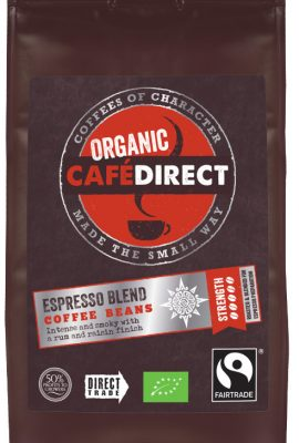 Café Direct Organic Espresso Blend Whole Beans Coffee 227 g (Pack of 6) cafa direct organic espresso blend whole beans coffee 227 g pack of 6 270x400