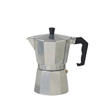 Cooks Professional Italian Espresso Coffee Maker Stove Top Macchinetta in 2 or 6 Cup. cooks professional italian espresso coffee maker stove top macchinetta in 2 or 6 cup