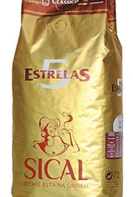 Delicious Portuguese Roasted Coffee Beans – Sical 5 Stars (1Kg) delicious portuguese roasted coffee beans sical 5 stars 1kg 270x400
