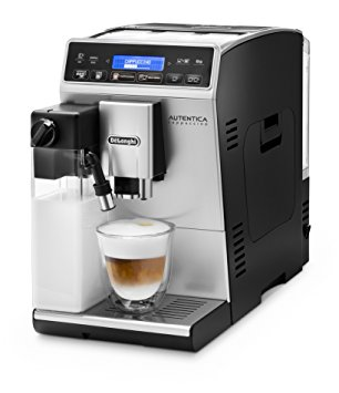 De'Longhi Coffee Maker (Freestanding, Coffee Beans, Ground Coffee, Fully-Auto, Espresso Machine) – Silver delonghi coffee maker freestanding coffee beans ground coffee fully auto espresso machine silver