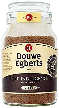Douwe Egberts Pure Indulgence Instant Coffee 190 g (Pack of 2) douwe egberts pure indulgence instant coffee 190 g pack of 2