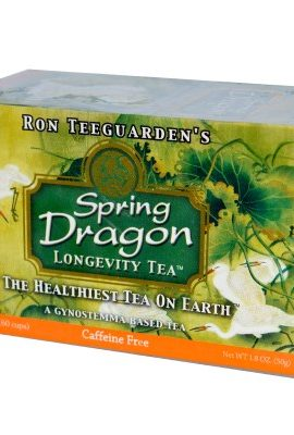 Dragon Herbs, Spring Dragon Longevity Tea, Caffeine Free, 20 Tea Bags, 1.8 oz (50 g) dragon herbs spring dragon longevity tea caffeine free 20 tea bags 1 8 oz 50 g 270x400