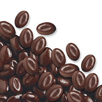 Edible Chocolate Mocca Coffee Beans for Cake / Cupcake Decorations edible chocolate mocca coffee beans for cake cupcake decorations