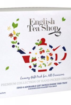 English Tea Shop Organic Luxury Gift Tray (Pack of 48 Tea Bags) english tea shop organic luxury gift tray pack of 48 tea bags 270x400