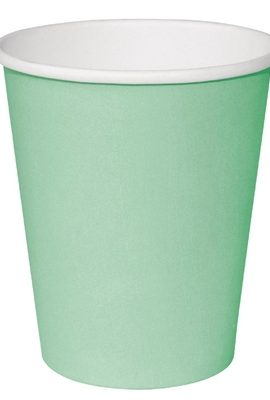 Fiesta GP403 Takeaway Coffee Cups, Single Wall, 8 oz., Turquoise (Pack of 1000) fiesta gp403 takeaway coffee cups single wall 8 oz turquoise pack of 1000 270x400