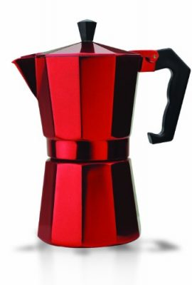 Italian Espresso Stove Top Coffee Maker Pot 6 Cup red italian espresso stove top coffee maker pot 6 cup red 270x400