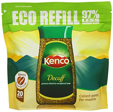 Kenco Decaffeinated Instant Coffee Eco Refill 150 g (Pack of 6) kenco decaffeinated instant coffee eco refill 150 g pack of 6