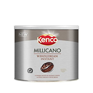 Kenco Millicano Whole Bean Instant Coffee 500 g (Pack of 1) kenco millicano whole bean instant coffee 500 g pack of 1