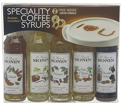 Monin Syrup Coffee Gift Set 5x5cl monin syrup coffee gift set 5x5cl 1