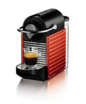 pixie Pixie Electric Red Nespresso Coffee Machine nespresso by krups xn300640 pixie coffee machine