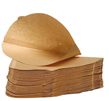 Pack of 100 – Unbleached Coffee Papers – Size Four (4) pack of 100 unbleached coffee papers size four 4