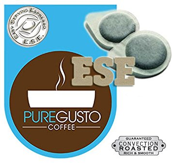 PureGusto – Continental Intenso ESE Coffee Pods (100) – FREE DELIVERY puregusto continental intenso ese coffee pods 100 free delivery