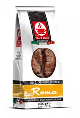 ROMA: 1KG ITALIAN BLEND ROASTED COFFEE BEANS: RICH, CREAMY & INTENSE roma 1kg italian blend roasted coffee beans rich creamy intense 270x400
