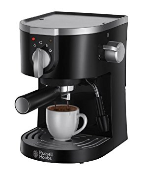 Russell Hobbs 15-Bar Pump Espresso Machine 19720 – Black russell hobbs 15 bar pump espresso machine 19720 black