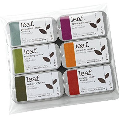 Tea gifts: 6 mini herbal infusion tins taster set tea gifts 6 mini herbal infusion tins taster set