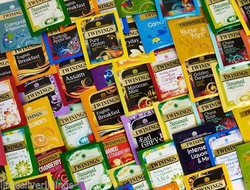 Twinings 20 Assorted Flavours, Fruit, Green Tea, Speciality Tea & Herbal Selection, 100 Individual Envelope Teabags twinings 20 assorted flavours fruit green tea speciality tea herbal selection 100 individual envelope teabags