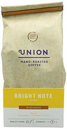 Union Hand Roasted Bright Note Blend Whole Bean Coffee 200 g union hand roasted bright note blend whole bean coffee 200 g