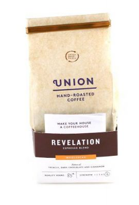 Union Hand Roasted Coffee Revelation Espresso Wholebean, 200g union hand roasted coffee revelation espresso wholebean 200g 270x400