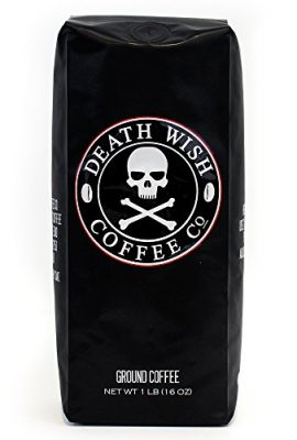 Death Wish Ground Coffee, The World's Strongest Coffee, Fair Trade and USDA Certified Organic death wish ground coffee the worlds strongest coffee fair trade and usda certified organic 270x400