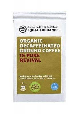 Equal Exchange Decaffeinated Coffee Beans – Swiss Water equal exchange decaffeinated coffee beans swiss water 270x400