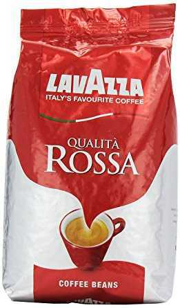 Lavazza Qualita Rossa Coffee Beans, Pack of 6, 6 x 1000g lavazza qualita rossa coffee beans pack of 6 6 x 1000g