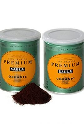 Premium Organic Ground Coffee – 100% Arabica Spanish Espresso Blend from Award Winning Café Saula 500g (2x 250g) premium organic ground coffee 100 arabica spanish espresso blend from award winning cafe saula 500g 2x 250g 270x400