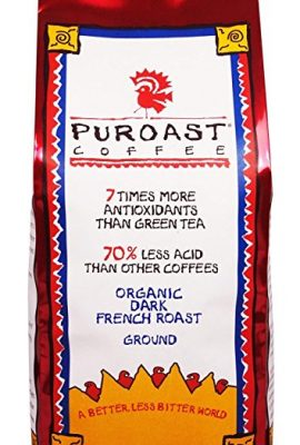 Puroast Low Acid Coffee Organic French Roast Ground Coffee, 12 Ounce Bag puroast low acid coffee organic french roast ground coffee 12 ounce bag 270x400
