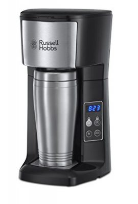Russell Hobbs Brew and Go Coffee Machine and Mug 22630, 400 ml – Stainless Steel and Silver russell hobbs brew and go coffee machine and mug 22630 400 ml stainless steel and silver 270x400