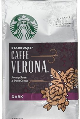 Starbucks Verona Blend Ground Coffee 200 g (Pack of 6) starbucks verona blend ground coffee 200 g pack of 6 270x400