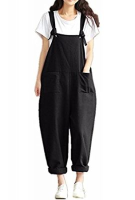 Styledome Women's Retro Loose Casual Baggy Sleeveless Overall Long Jumpsuit Playsuit Trousers Pants Dungarees styledome womens retro loose casual baggy sleeveless overall long jumpsuit playsuit trousers pants dungarees 270x400