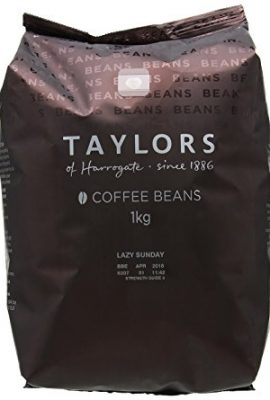 Taylors of Harrogate Lazy Sunday Coffee Beans 1 kg (Pack of 2) taylors of harrogate lazy sunday coffee beans 1 kg pack of 2 270x400