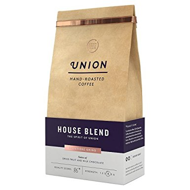 Union Hand Roasted Coffee House Blend Ground Coffee, 200g union hand roasted coffee house blend ground coffee 200g