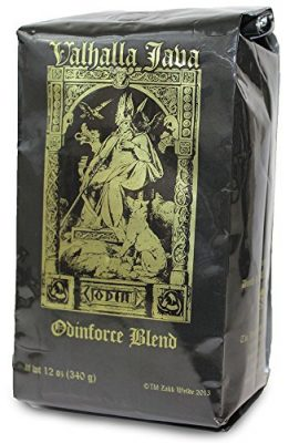 Valhalla Java Ground Coffee by Death Wish Coffee Company, Fair Trade and Organic 12 ounce bag valhalla java ground coffee by death wish coffee company fair trade and organic 12 ounce bag 270x400