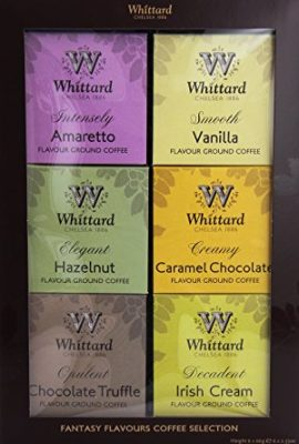Whittard of Chelsea Flavoured Coffee Gift box (6 x 66g boxes in one gift set) whittard of chelsea flavoured coffee gift box 6 x 66g boxes in one gift set 270x400