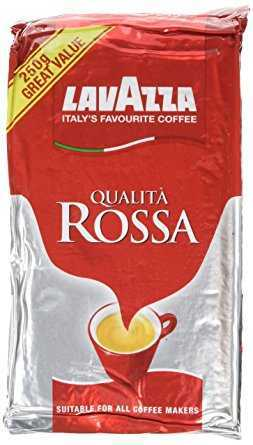 Lavazza Caffe Qualita Rossa Coffee 250 g (Pack of 6) lavazza caffe qualita rossa coffee 250 g pack of 6