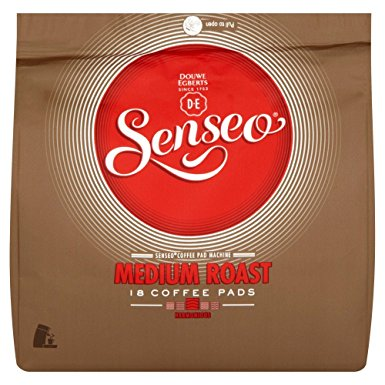 Douwe Egberts Senseo Medium Roast Coffee 18 Pads (Pack of 5, Total 90 Pods) douwe egberts senseo medium roast coffee 18 pads pack of 5 total 90 pods