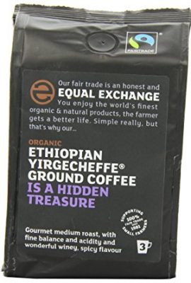 Equal Exchange Ethiopian Yirgacheffe Ground Organic Coffee 227 g (Pack of 2) equal exchange ethiopian yirgacheffe ground organic coffee 227 g pack of 2 270x400