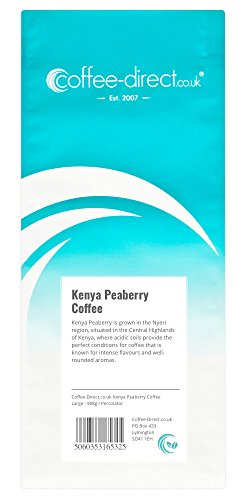 Coffee Direct Kenya Peaberry Coffee Percolator Grind 908 g 41hCEEhOY9L