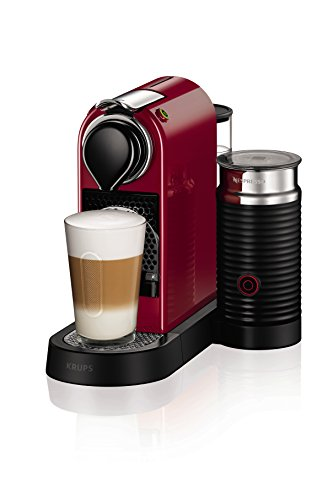 NESPRESSO by Krups XN760540 Citiz and Milk Coffee Machine, 1710 Watt, Red 41kt6jWjLL