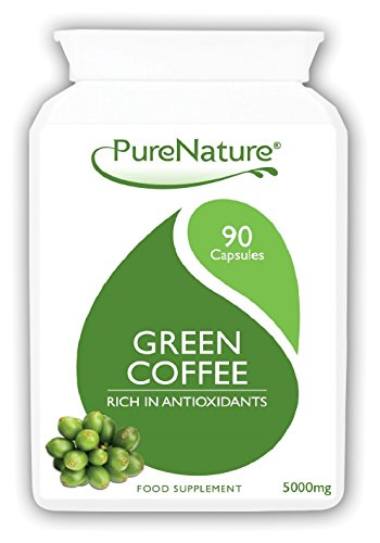 , 90 Pure Green Coffee Bean Diet Weight Loss Slimming Pills | Best Quality Ultra Strong 15000mg Daily & 50% GCA | Over 6 Times Stronger than Other Brands and 50% More Capsules |FREE UK DELIVERY, Best Coffee Maker