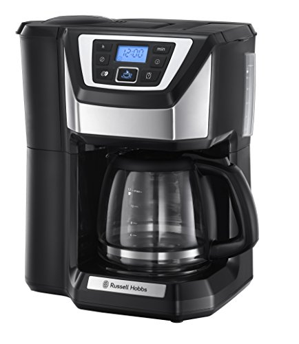 , Russell Hobbs Chester Grind and Brew Coffee Machine 22000 – Black, Best Coffee Maker, Best Coffee Maker