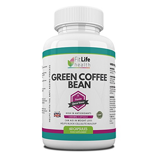 , GREEN COFFEE BEAN EXTRACT Diet Pills by Fit Life Health – Fights The Signs Of Ageing – Helps With Weight Loss – Antioxidant Formula Boosts Your Metabolism And Blocks Cellulite Build-up – Highest Strength 5,000mg Formula – 60 Capsules – Suitable For Vegetarians – Made In UK, Best Coffee Maker, Best Coffee Maker